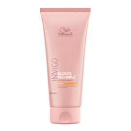 Wella Invigo Blond Recharge - Warm Blonde - Kleuropfrissende Conditioner - 200 ml