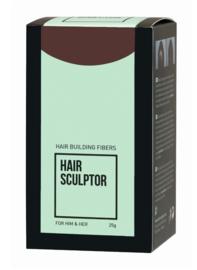 Haaropbouwvezels - Hair Sculptor - Donker bruin