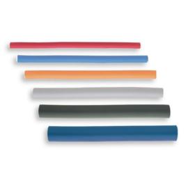 Mousse shapers Long 25 cm - Donkergroen - 25 mm - 5 stuks