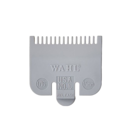 Wahl - Plastic opzetkam Nr.½ - 1,5 mm grijs