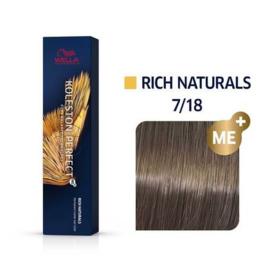 Wella Koleston Perfect ME+ - Rich Naturals - 7/18 - 60 ml