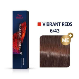 Wella Koleston Perfect ME+ - Vibrant Reds - 6/43 - 60 ml