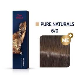 Wella Koleston Perfect ME+ - Pure Naturals - 6/0 - 60 ml