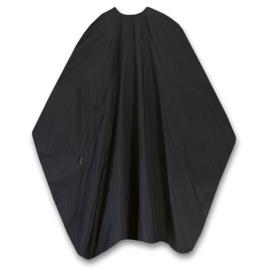 Trend-Design Classic XL Knipmantel met drukknopen - Zwart