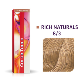 Wella Color Touch - Rich Naturals -  8/3  - 60 ml