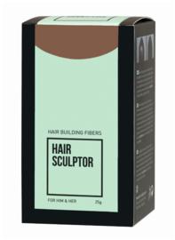 Haaropbouwvezels - Hair Sculptor - Licht bruin