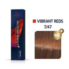 Wella Koleston Perfect ME+ - Vibrant Reds - 7/47 - 60 ml