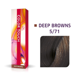 Wella Color Touch - Deep Browns -  5/71  - 60 ml