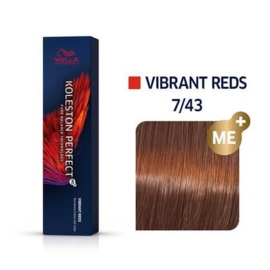 Wella Koleston Perfect ME+ - Vibrant Reds - 7/43 - 60 ml