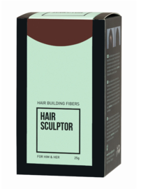 Haaropbouwvezels - Hair Sculptor - Midden bruin