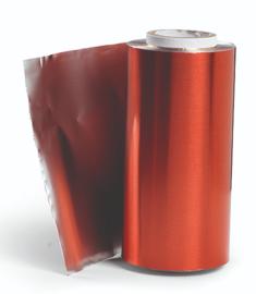 Aluminium Folie - Rol 100 m - Rood