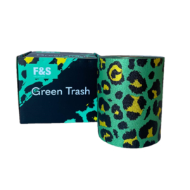 Foils and Stuff - Green Trash On A Roll - 100 m
