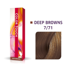 Wella Color Touch - Deep Browns -  7/71  - 60 ml