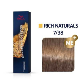 Wella Koleston Perfect ME+ - Rich Naturals - 7/38 - 60 ml