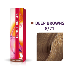 Wella Color Touch - Deep Browns -  8/71 - 60 ml
