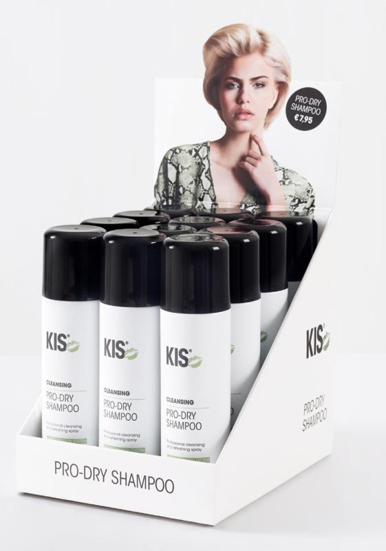 Kis Pro-Dry Shampoo - display 12 x 200 ml