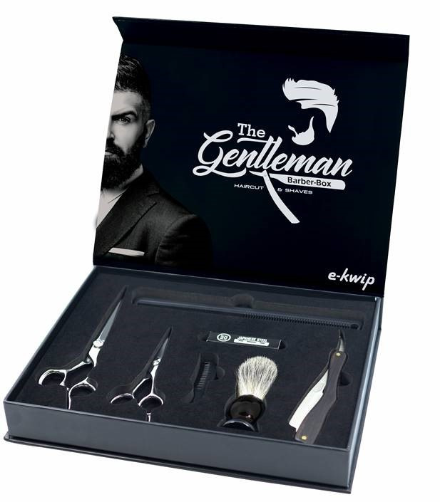 E-Kwip The Gentleman Barber-Box