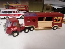 truck horsetrailer