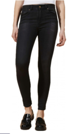 Lois Cordoba High Rise Skinny Cropped Mono Khol Dark Grey