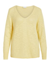Vila vipoca Knit mellow yellow