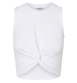 Noisy May nmtwiggy cropped top White