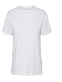 Noisy May Brandy T-shirt White