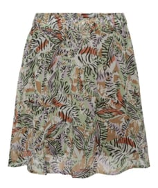 Noisy May nmval Short Skirt Orchidee Bloom/leaf