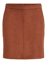 Vila Faddy Skirt Tortoise Shell