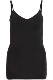 Vila Surface Strap Top New Noos Black