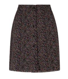 Ydence Skirt Leoni Black Flower