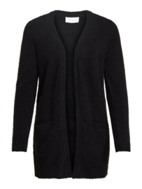 Vila Feami Open Knit Cardigan Noos Black