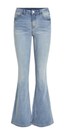Vila Viekko flared jeans light Blue Denim