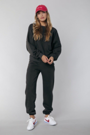 Colourful Rebel Uni Loose Fit Sweat Jogger Pants Anthracite