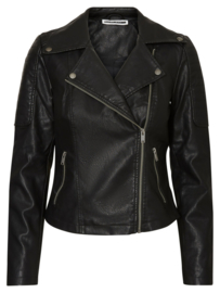 Noisy May Rebel Pu Jacket Leather Look Jacket