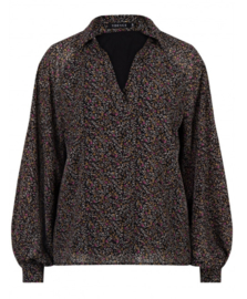 Ydence Top/blouse Noëlle Black Flower