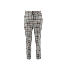 Harper & Yve Pants Alex Blue Check