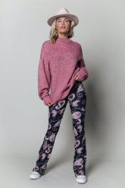 Colourful Rebel Olivia Knitwear Sweater Old Lilac