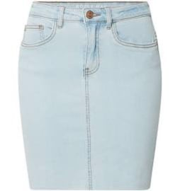 Noisy May nmbe callie Short Skirt light Blue denim