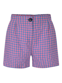 Ydence Short Piper Pink check
