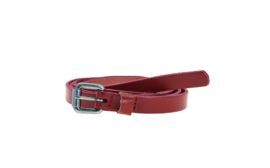 Elvy Plain Belt Red