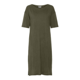 Noisy May nmmayden T-shirt Dress olive