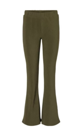 Noisy May Flare Rib Pants Billie Green