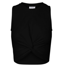 Noisy May nmtwiggy cropped top Black