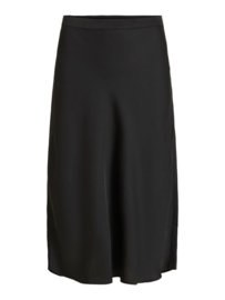 Vila Kanataia High Waist Midi Skirt Black