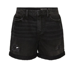 Noisy May Smiley Shorts Black