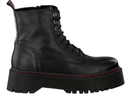 PS Poelman boots Black/red