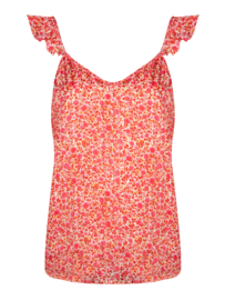 Ydence top Jaimy hot Pink Flower print