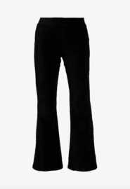 Noisy May Malba Flared Cordouroy Pants Black