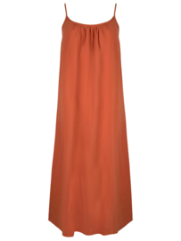 Ydence Dress Avery terracotta
