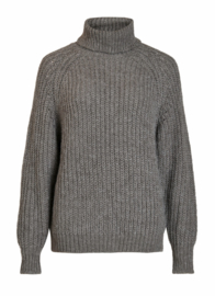 Vila Visuba knit medium grey